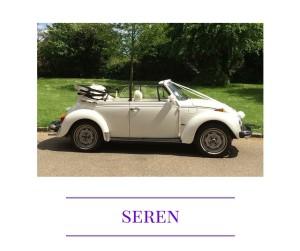 Seren VW Beetle wedding car
